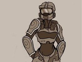 Ženská verze Master Chiefa ze série Halo