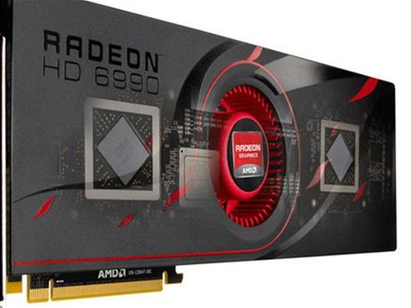 Konkurenční Radeon HD 6990