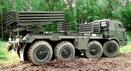 Raketomet vzor 70 - Čtyřicetihlavňová zbraň s maximálním dostřelem 20 381 metrů