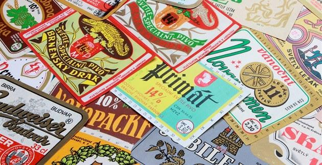 Pivní etikety jsou nejen uměleckým dílem, ale i zdrojem informací.