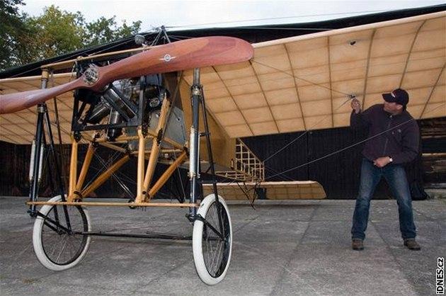Blériot XI. � nejstar�í provozuschopné letadlo v Evrop�