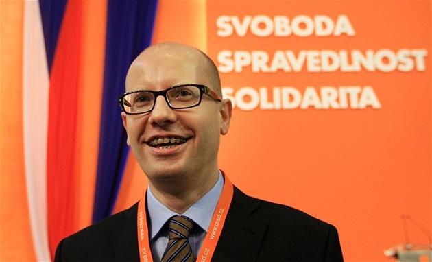 Sjezd �SSD v Brn� - Bohuslav Sobotka (18. b�ezna 2011)