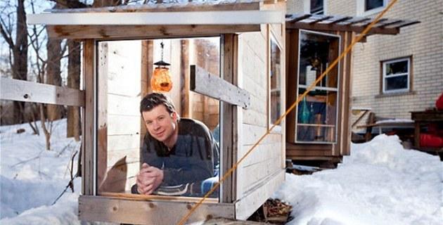 Derek Diedricksen ve svém prvním dome�ku s názvem The Hickshaw