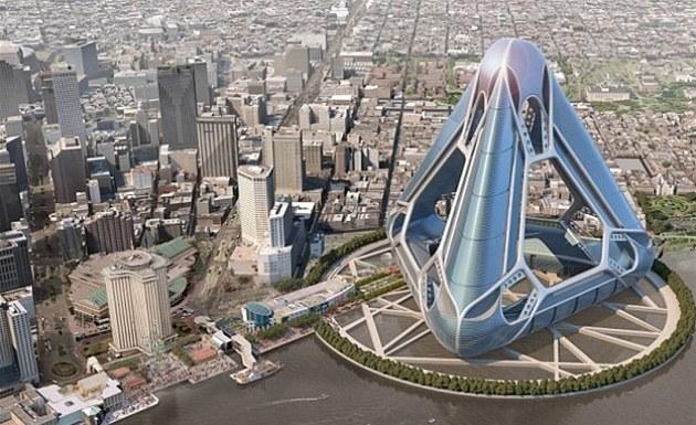 Ačkoliv je tento projekt vytvořen právě pro New Orleans, jeho designéři věří, že by se dal stejný koncept použít i na jiném pobřeží.