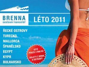 Brenna s.r.o. - cestovní kancelář Léto 2011