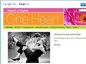 Google Wedding - ukázka výsledných stránek