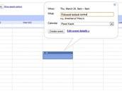 Kalendář Google - nová událost