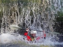 Vodácké otevírání Tiché Orlice se v Chocni uskutečnilo akcí Choceňský buben.