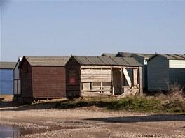 Nejdražší kůlna na světě, i tak by se dal nazvat plážový domek určený k prodeji.