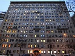 Pohled na předválečnou newyorskou rezidenci, ve které si manželé Prokopovi pořídili v šestnáctém patře byt.