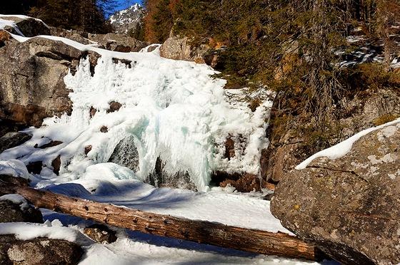 Vodopád Studeného potoka