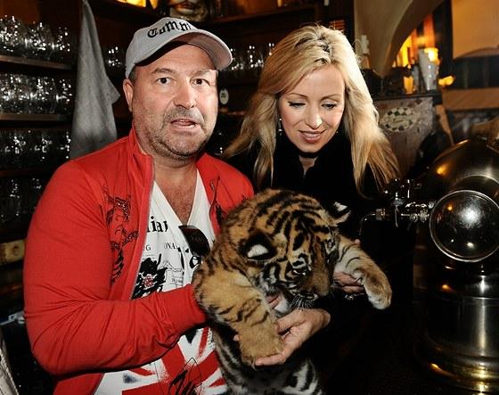 Tygří mládě Michala Davida škráblo