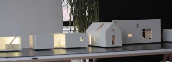 Modely navržených domů