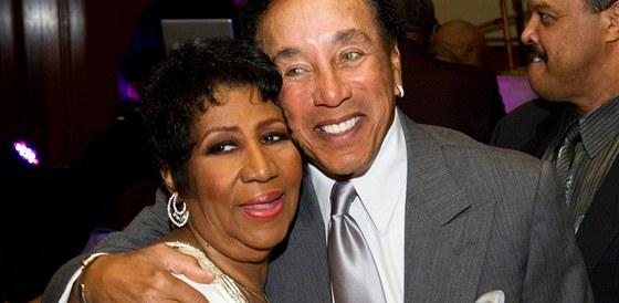 Aretha Franklinová a Smokey Robinson