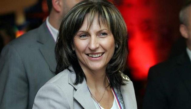 Ivana �ápková na kongresu ODS. (21. listopadu 2009)