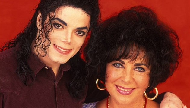 Michael Jackson a Elizabeth Taylorov&#225; 