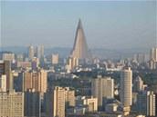 Stavba monumentálního hotelu v Pchjongjangu měla být dokončena minimálně před 20 lety.