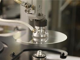 DTD - polymerový kotouč před naprášením