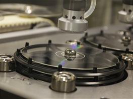 DTD - sušení disků