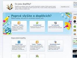 Firefox 4 - doplňky