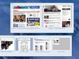 Firefox 4  - Panorama