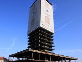 Budova Skeletoru dnes slouží jen jako reklamní plocha.