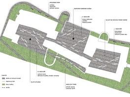 Studenti brněnského VUT navrhli několik variant budoucího využití zámku v Brtnici (návrh Jany Rotreklové).