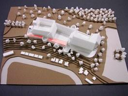 Studenti brněnského VUT navrhli několik variant budoucího využití zámku v Brtnici (návrh Jany Podpleské).
