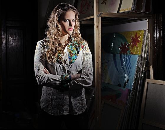 Vladivojna La Chia - zpěvačka, skladatelka, malířka...