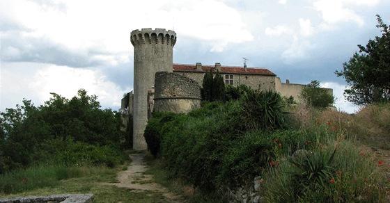 Saracénská věž ve Viens