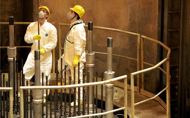 Zam�stnanci jaderné elektrárny Temelín