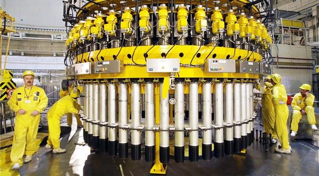 Kontrola reaktoru v jaderné elektrárn� Temelín