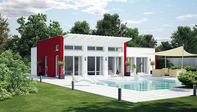 Bungalov 135 je vhodný pro bezbariérové i nízkoenergetické bydlení, od 3 2 341 000 Kč.
