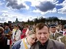 Pohřeb polského prezidentského páru ve Varšavě. (17. dubna 2010)