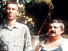 János Bán a Marián Labuda (vpravo) zazářili jako dvojice ve filmu Vesničko má středisková.