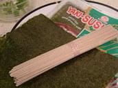 Ingredience potřebné pro přípravu japonských pohankových nudlí soba