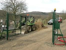 Nová brána k sídlu Patrika Oulického