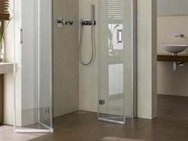 Sprchový kout Diga dovoluje využít maximální šířku vstupu.