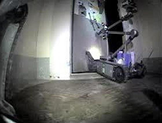 Roboti při průzkumu jednoho z fukušimských reaktorů