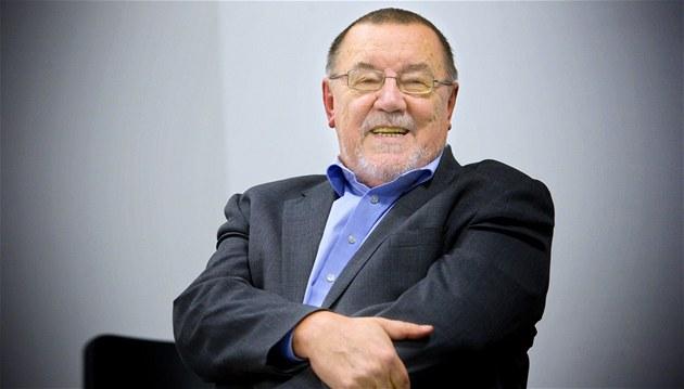 Spisovatel Zdeněk Šmíd na snímku z konce ledna 2011