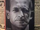 Z berlínské výstavy Tváří v tvář spravedlnosti: Adolf Eichmann před soudem (11. dubna 2011)