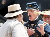 Připomínkové akce k 150. výročí od začátku občanské války.  v americkém Charlestonu. (12. dubna 2011)