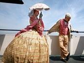 Heather Kenneyová s manželem Thomasem při cestě do amerického Charlestonu