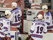 Hokejist New Yorku Rangers sestaili na Washington Capitals ani podruh.