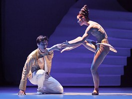 Z baletu Popelka (Alexandre Katsapov, Zuzana Šimáková)