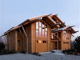 Rodinný dům kanadského architekta Michaela Scott Kempa