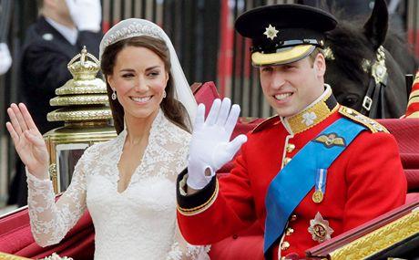 Královská svatba ve Westminsterském opatství.