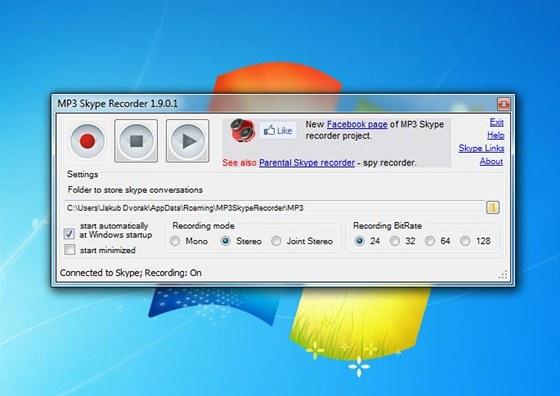 MP3 Skype Recorder 1.9
