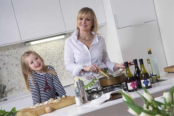 Denise Courne Glozová s dcerou