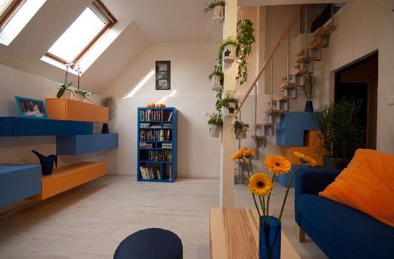 Pokoj má pouze 17 metrů čtverečních.